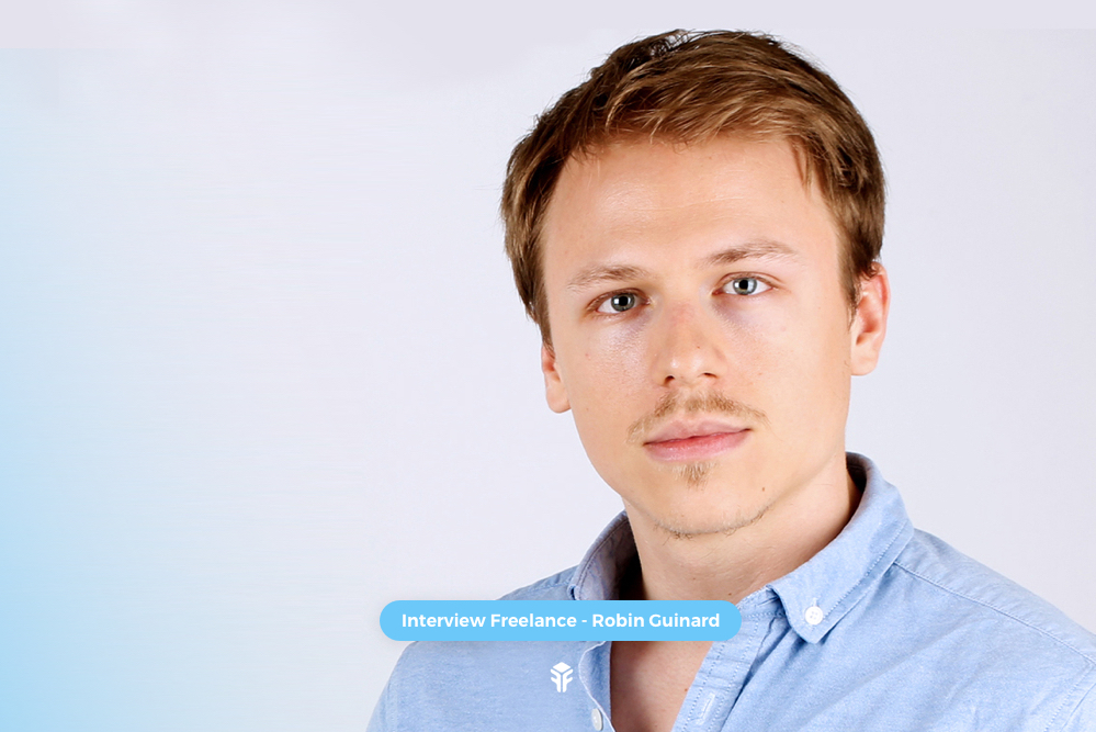 Freebe : [Interview Freelance] Robin Guinard, intégrateur web