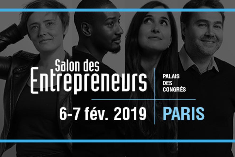 image Retrouve Freebe au Salon des Entrepreneurs les 6 et 7 février !