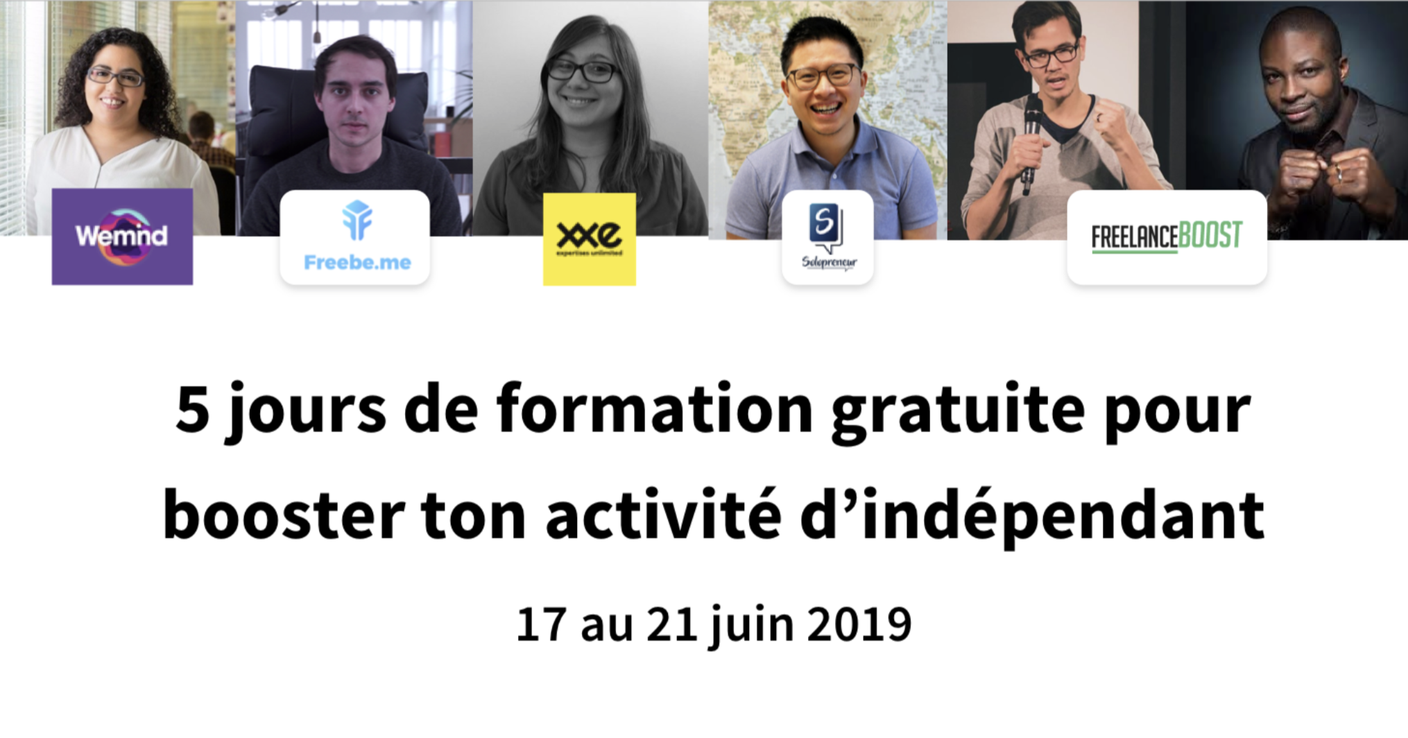 Freelance Boot Camp : 5 jours de formation gratuite !