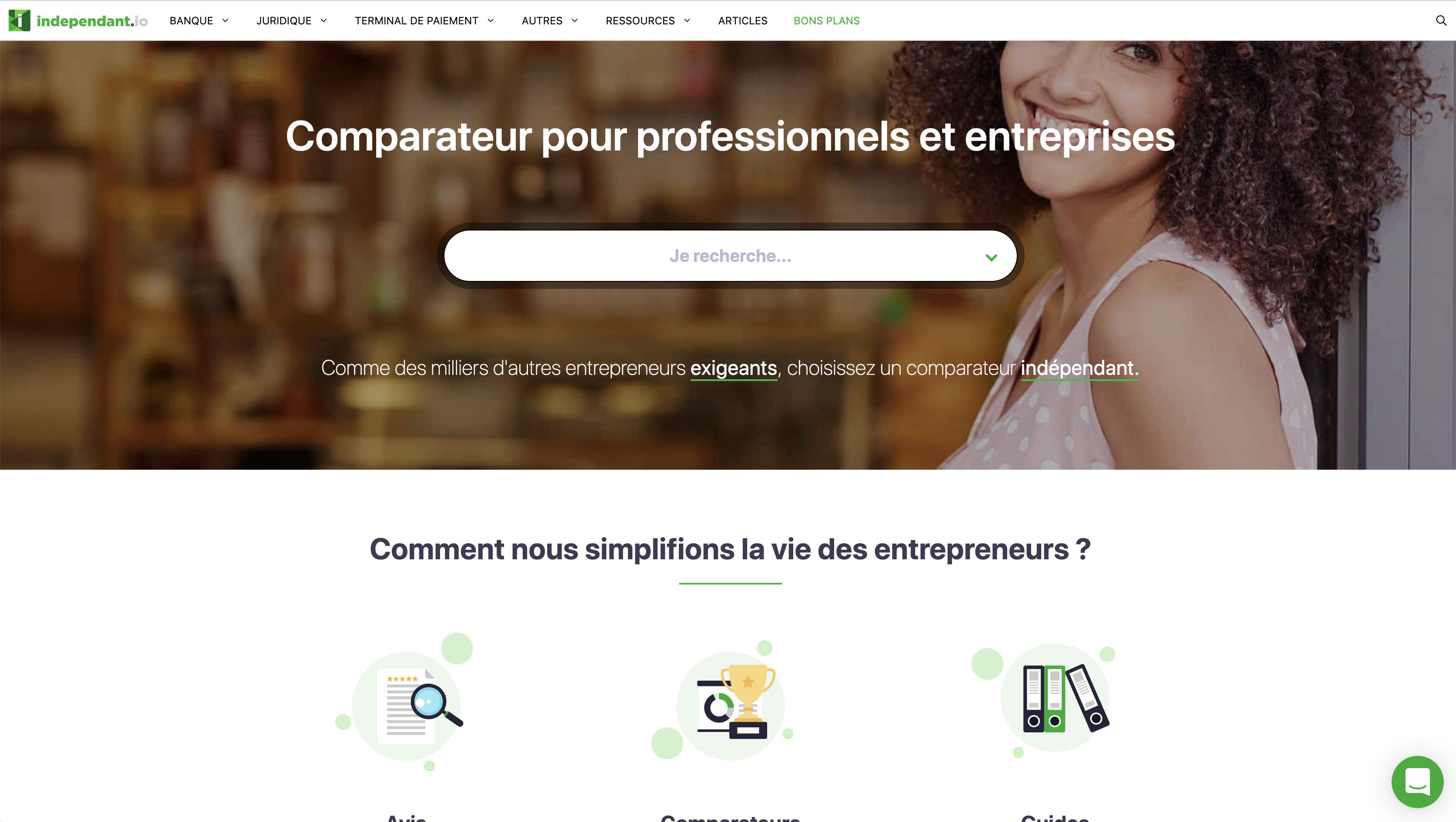 image Le comparateur indépendant d'outils pour freelances : independant.io