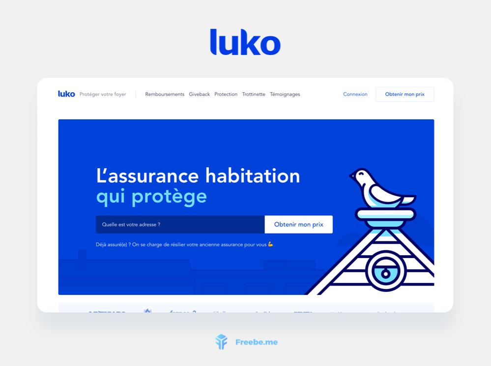 Freebe : Luko, l'assurance habitation moderne et solidaire
