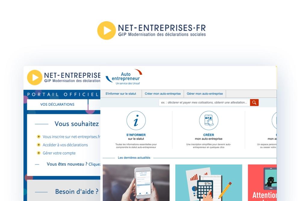 image Net-Entreprises, c'est fini !