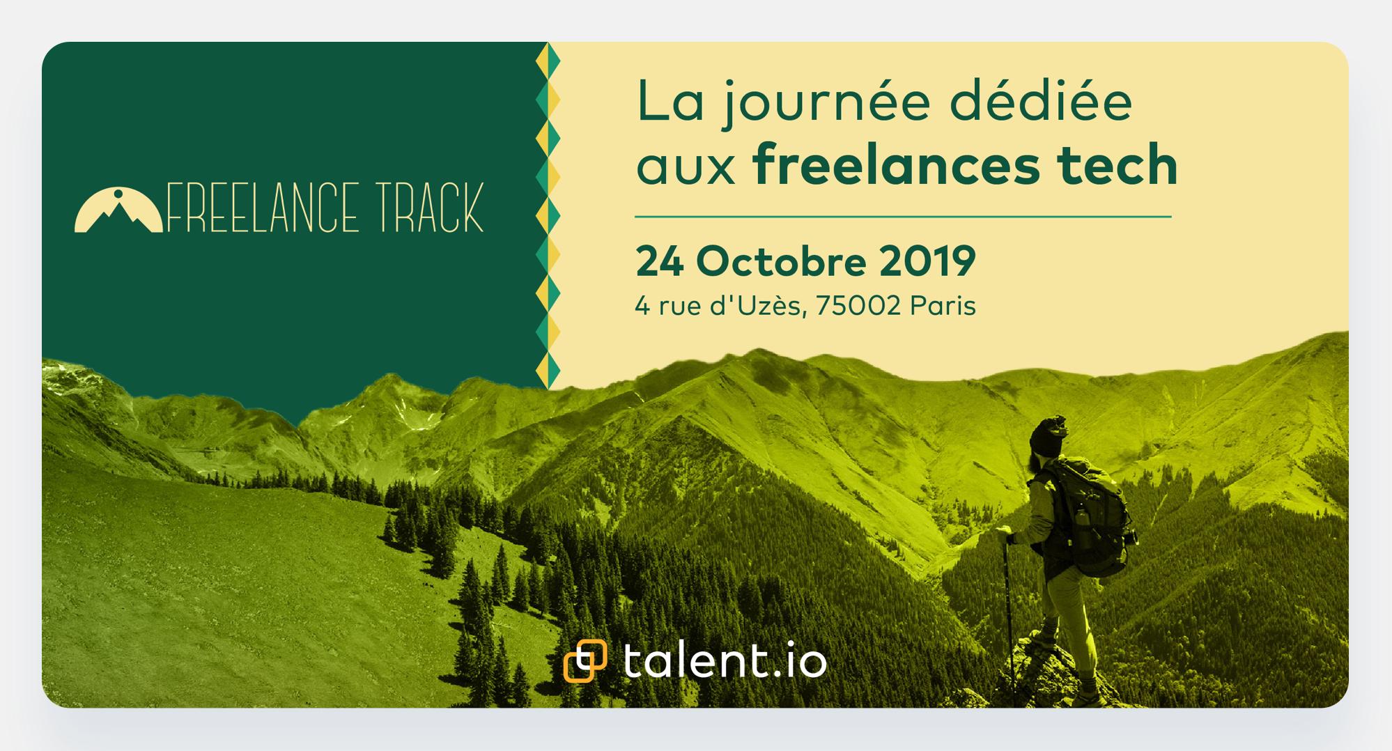 Freebe : Freebe t'invite au prochain Freelance Track!